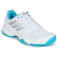 Shoes Running shoes adidas Performance Barricade Club xJ White / Blue
