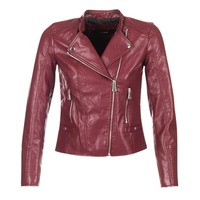 Clothing Women Leather jackets / Imitation leather Vero Moda KERRI BORDEAUX