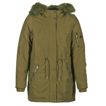 Clothing Women Parkas Vero Moda CANDY KAKI