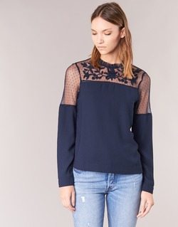 Clothing Women Tops / Blouses Vero Moda JOSEFINE Marine