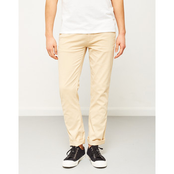 Clothing Men chinos The Idle Man Slim Fit Chino Stone