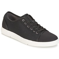 Shoes Men Low top trainers Clarks Lander Cap Black