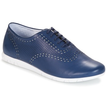 Shoes Women Brogues Kickers BECKI Marine