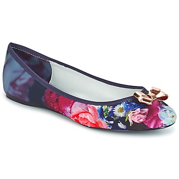 Shoes Women Flat shoes Ted Baker IMME 2 Blue/Pink/Flowery