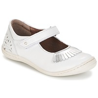 Shoes Girl Flat shoes Kickers CALYPSO White