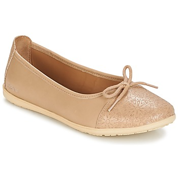 Shoes Girl Flat shoes Kickers EDANA Beige