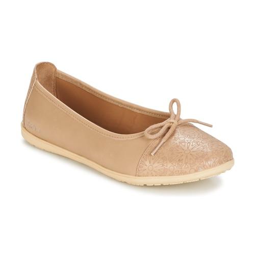 Shoes Girl Flat shoes Kickers EDANA Beige