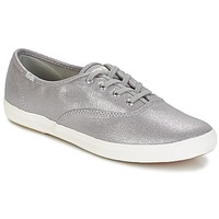 Shoes Women Low top trainers Keds CH METALLIC CANVAS Silver