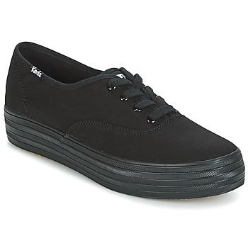 Shoes Women Low top trainers Keds TRIPLE Black