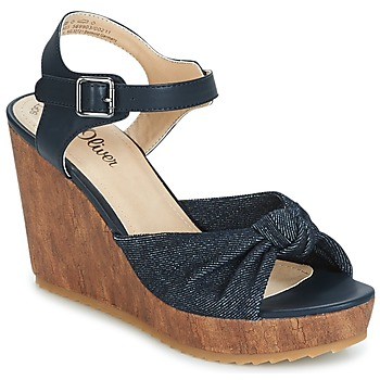 Shoes Women Sandals S.Oliver  DENIM / Comb