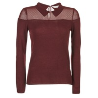 Clothing Women jumpers Naf Naf NAMONIE Bordeaux