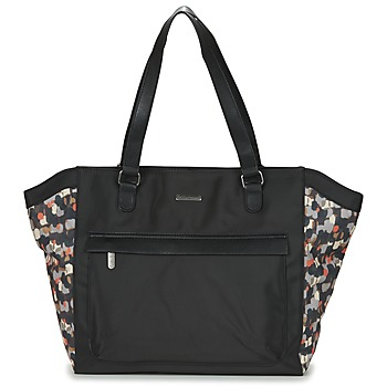 Bags Women Shopping Bags / Baskets Little Marcel NUR Black / Multicoloured
