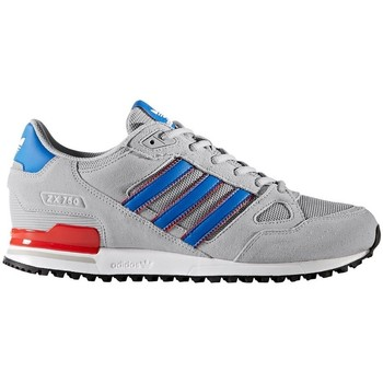 Shoes Men Low top trainers adidas Originals ZX 750 Blue-Grey-Red