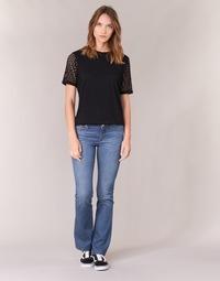 Clothing Women bootcut jeans Yurban HEKIKKOU BOOTCUT Blue / Medium