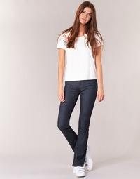 Clothing Women bootcut jeans Yurban HEKIKOU BOOTCUT Blue