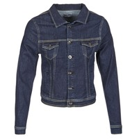 Clothing Women Denim jackets Yurban IHELEFI Blue / Medium