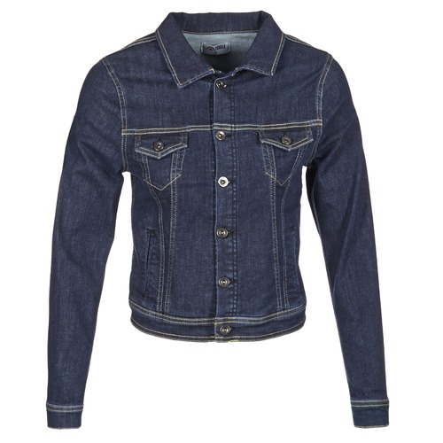 Clothing Women Denim jackets Betty London IHELEFI Blue / Medium