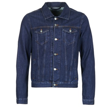 Clothing Men Denim jackets Yurban HEDEM Blue / Raw