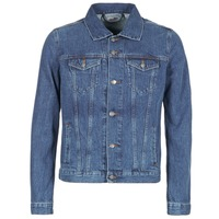 Clothing Men Denim jackets Yurban IHEDEM Blue / Medium