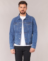 Clothing Men Denim jackets Yurban HEDEM Blue / Medium