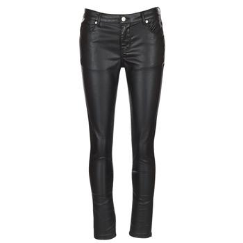 Clothing Women 5-pocket trousers Moony Mood HENDUI Black