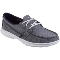Shoes Women Low top trainers Skechers Go Step Marina Womens Casual Boat Shoes blue