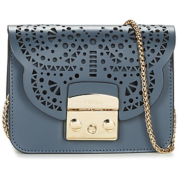 Bags Women Shoulder bags Furla METROPOLIS BOLERO MINICROSSBODY Blue