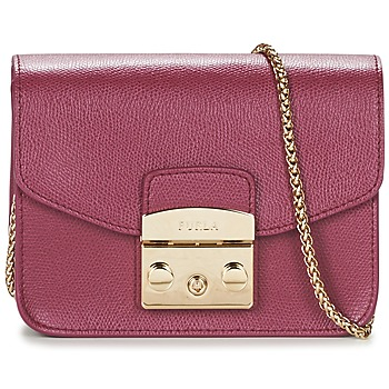 Bags Women Shoulder bags Furla METROPOLIS Raspberry