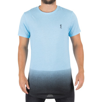 Clothing Men short-sleeved t-shirts Religion Men's Gradient Logo T-Shirt, Blue blue