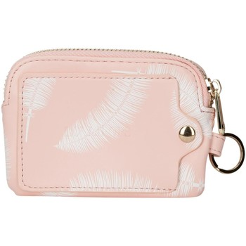 Bags Women Purses Lollipops Feather print small purse PINK