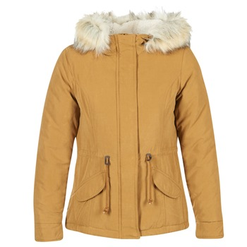 Clothing Women Parkas Only NEW LUCA MUSTARD
