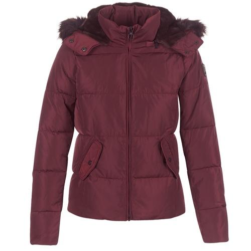 Clothing Women Duffel coats Only RHODA Bordeaux