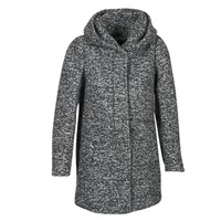 Clothing Women coats Only INDIE Grey