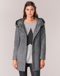 Clothing Women coats Only SEDONA Grey