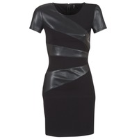 Clothing Women Short Dresses Only MARY Black