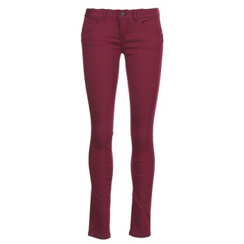 Clothing Women 5-pocket trousers Only LUCIA Bordeaux