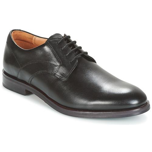 Clarks - Black Leather