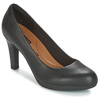 Shoes Women Heels Clarks Adriel Viola  BLACK / Leather