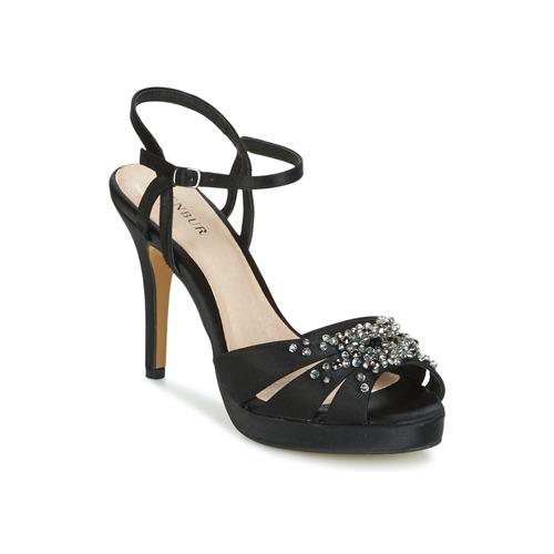 Shoes Women Sandals Menbur ALCAZR Black