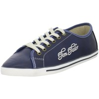 Shoes Women Low top trainers Tom Tailor 279310200BLUE Blue