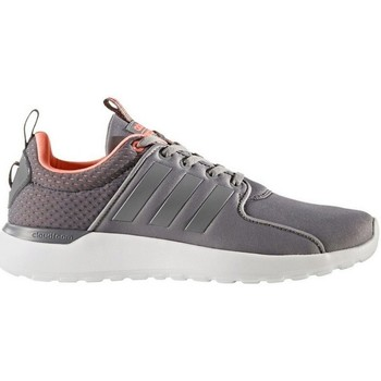 Shoes Women Low top trainers adidas Originals Neo Cloudfoam CF Lite Racer Grey-Orange