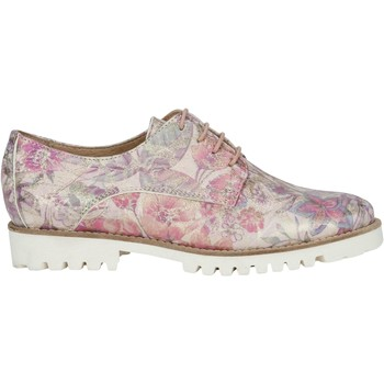 Shoes Women Derby Shoes Lollipops Printed leather derbies FLOWERS