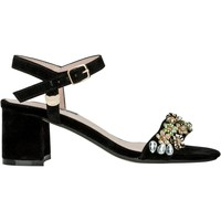 Shoes Women Sandals Lollipops Jewelled high heeled sandals BLACK