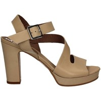 Shoes Women Sandals Mally 5180 High heeled sandals Women Beige Beige