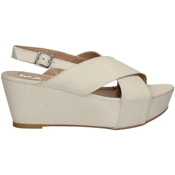 Shoes Women Sandals Mally 5669 Wedge sandals Women White White
