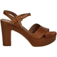 Shoes Women Sandals Mally 5831 High heeled sandals Women Brown Brown