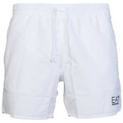 Clothing Men Shorts / Bermudas Ea7 By Emporio Armani EA7 Emporio Armani Shorts 9020007P730 white