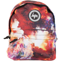 Bags Men Rucksacks Hype Men's Space Flames Logo Backpack, Multicoloured multicoloured