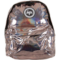 Bags Men Rucksacks Hype Men's Holographic Logo Backpack, Brown brown