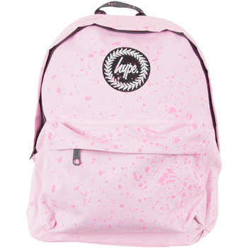 Bags Men Rucksacks Hype Men's Speckle Logo Backpack, Pink pink